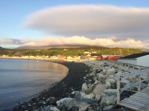 Before sunset in neighbouring Trout River.